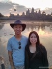 Angkor Archaeological Park - Angkor Wat sunrise portrait with Sayaka 1