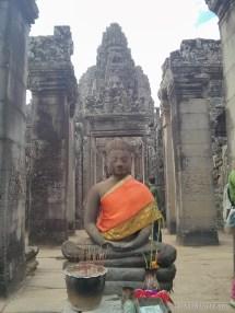 Angkor Archaeological Park - Bayon buddha 1