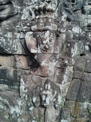 Angkor Archaeological Park - Bayon carving 4