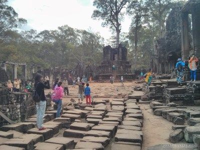 Angkor Archaeological Park - Bayon rubble 1