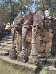 Angkor Archaeological Park - Elephants terrace 2