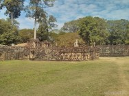 Angkor Archaeological Park - Leper King Terrace 1
