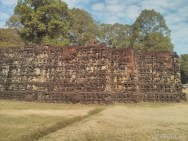 Angkor Archaeological Park - Leper King Terrace 2