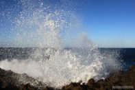 Bali travel - Nusa Dua sea spray 1