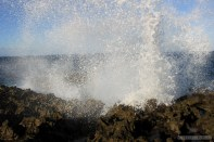 Bali travel - Nusa Dua sea spray 2