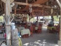 Bohol - Coco farm hostel common room