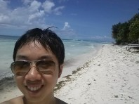 Bohol - hidden beach portrait 3