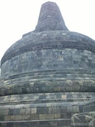 Borobudur - grand stupa 2
