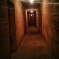 Cat Ba - hospital cave corridor