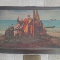 Cebu - Basilica of Santo Nino de Cebu painting