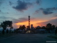 Cebu - Queen city memorial gardens sunset 3