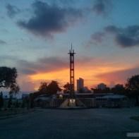Cebu - Queen city memorial gardens sunset 3