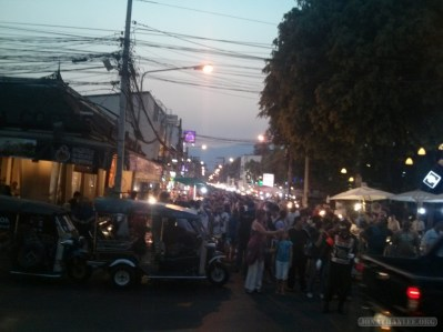 Chiang Mai - Sunday walking market 1