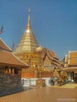 Chiang Mai - Wat Doi Suthep spire 2