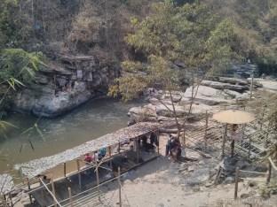 Chiang Mai trekking - bamboo rafting camp 1