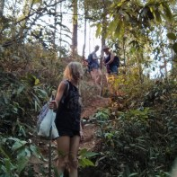 Chiang Mai trekking - day 1 trail 3