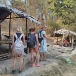 Chiang Mai trekking - night 2 camp