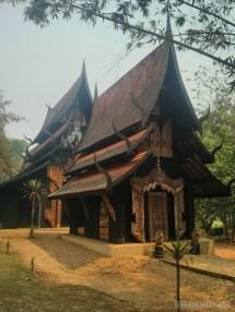 Chiang Rai - black house building 5