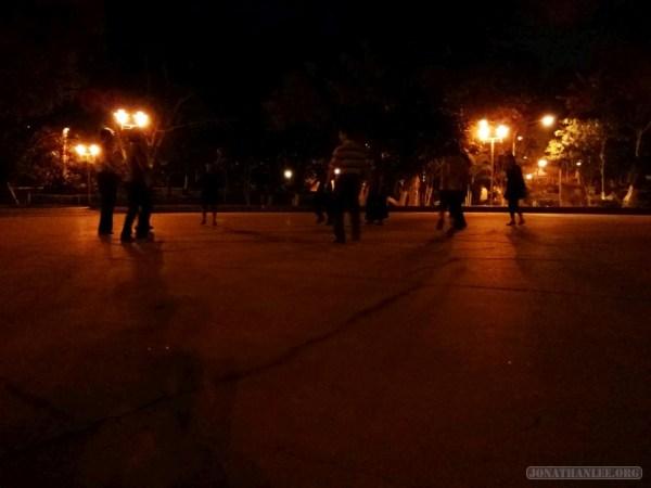 Chiayi - Chiayi park dancing