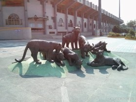 Chiayi - Chiayi park tiger statue
