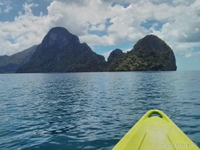 El Nido - kayaking 1
