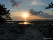 Gili Trawangan - sunset 1