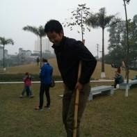 Hanoi - Ethnology museum stilts 3