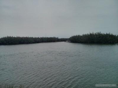 Hoi An - biking lake view 2