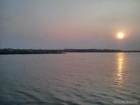 Hoi An - biking river sunset 2