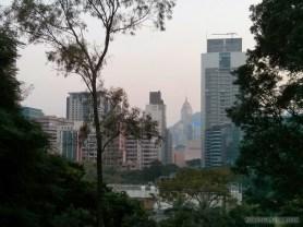 Hong Kong - Kowloon park view
