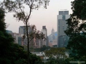 Hong Kong - Kowloon park view