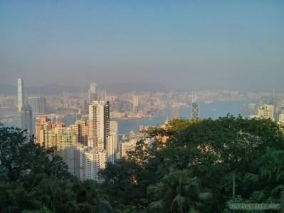 Hong Kong - Victoria peak view 1