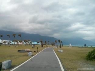 Hualien - coastline trail bike path