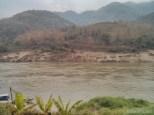 Huay Xai to Luang Prabang - Pakbeng morning view 3