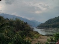 Huay Xai to Luang Prabang - Pakbeng morning view 4
