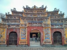Hue - Citadel chinese architecture 1