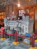 Hue - Khai Dinh tomb inside alter