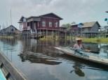 Inle Lake - boat tour floating village 2