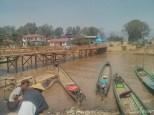 Inle Lake - town harbor 2