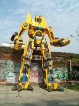 Kaohsiung - Pier 2 art robot