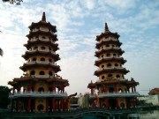Kaohsiung - lotus pond dragon tiger tower 1