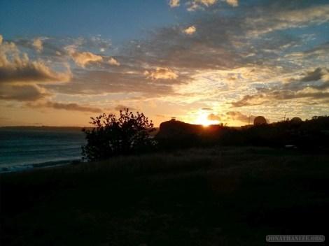 Kenting - south bay sunset 1