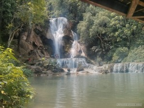 Luang Prabang - Kuang Si waterfall 13