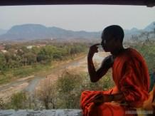 Luang Prabang - Mount Phousi monk