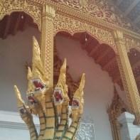 Luang Prabang - Wat Nong Sikhounmuang snake