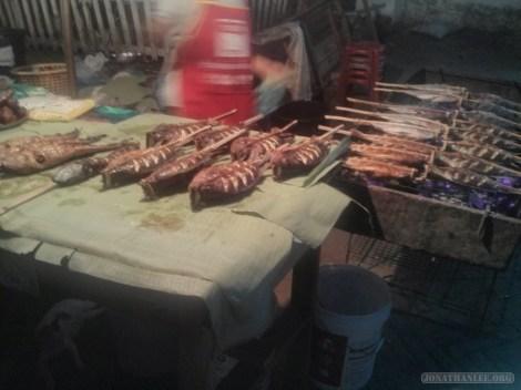 Luang Prabang - barbecue dinner