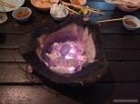 Luang Prabang - hot pot fire