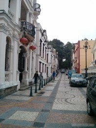Macau - Portugeuse street