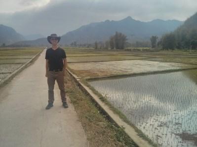 Mai Chau - rice fields portrait