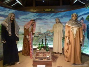 Malacca - Sultanate Museum Arab traders